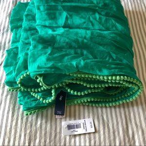 GAP cotton silk blend scarf